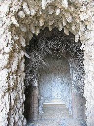 Grotte im Schloß Neuburg an der Donau, Bayern