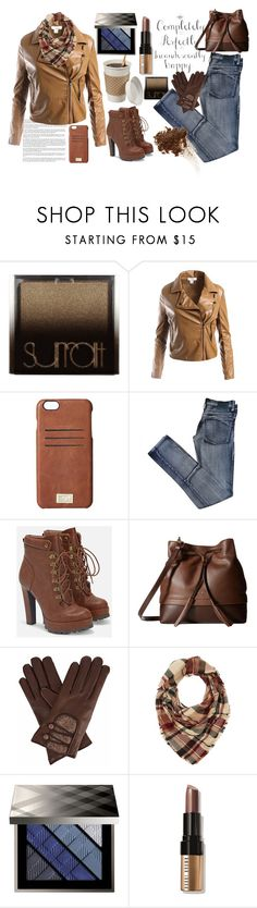 """""""Autumn return"""" by erohina-d ❤ liked on Polyvore featuring Surratt, Sans Souci, HEX, Cheap Monday, JustFab, Lodis, WALL, Gizelle Renee, Charlotte Russe and Burberry"""