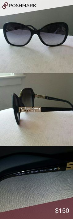 Versace Sunglasses Versace Sunglasses  Butterfly Frame Black Versace Accessories Sunglasses