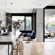 The Design Files - A Home Of Luxury And Layers - photo, Derek Swalwell. Home Design, Küchen Design, Modern House Design, Interior Design Kitchen, Interior Decorating, Design Ideas, Decorating Ideas, Decor Ideas, Layout Design