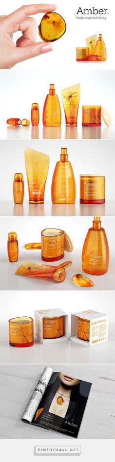 Amber Packaging by Tanya Chursina on Behance | Fivestar Branding – Design and Branding Agency & Inspiration Gallery