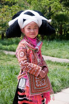 Maries Pastiche: - The Long Horn Miao