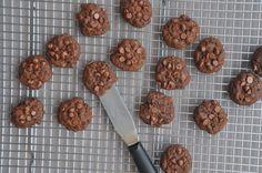 galletas de triple chocolate