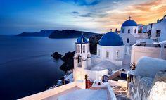 Santorini Cyclades Islands Greece
