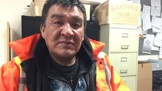 Norman Shewaybick walked more than 1,000 kilometres along the winter ice roads north of Thunder Bay, Ont., carrying his grief at the loss of his wife and dragging the oxygen tank he says could have saved her life.
