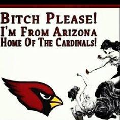 I'm from Arizona!