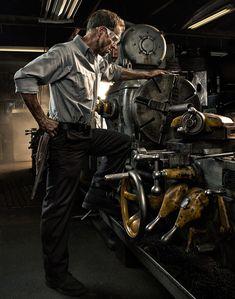 Wrangler Workwear by Dean Bradshaw, via Behance