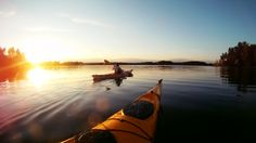 Domestic summer activity ideas: Kayaking on Lake Saimaa