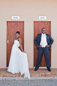 Real {South African} Wedding Inspiration by Kiekie Photography