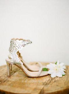 18 Charming   Elegant Laser Cut Wedding Shoes   http://www.deerpearlflowers.com/elegant-laser-cut-wedding-shoes/