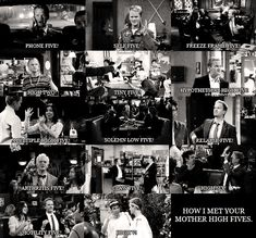 How I Met Your Mother High Fives! :))