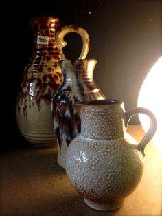 West Germany vazen Retro pottery