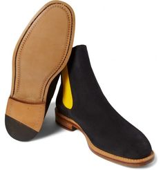 When McNairy met the Chelsea boot.