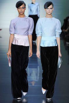 Giorgio Armani Privé AW 2012 at Haute Couture