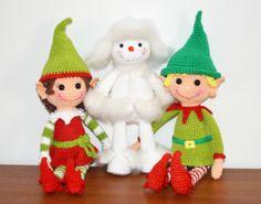 Christmas Elves Pattern