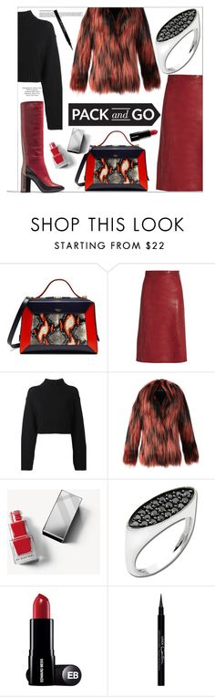 """""""Anastazio-pack and go"""" by anastazio-kotsopoulos ❤ liked on Polyvore featuring Mulberry, Vanessa Bruno, DKNY, Gucci, Burberry, Topshop, Anastazio and Givenchy"""