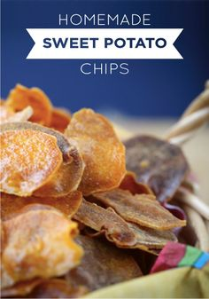 Served best warm and right out of the oven, these sweet potato chips are a simple, wholesome snack your kids will love. Baking on Reynolds Aluminum Foil ensures your chips won't stick to the pan and cleanup will be fast and easy!