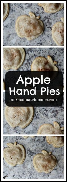 I've been using my apple cookie cutter lately making sandwiches for my kids' lunchboxes…and decided to get all crazy and make some little apple pies too. If you don't have an apple shaped cookie cutte
