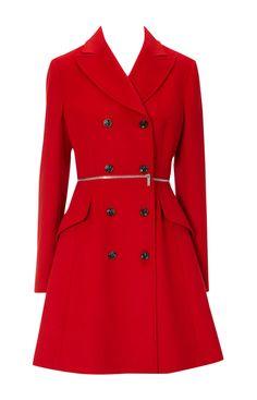 Soft red coat by Karren Millen (£265)