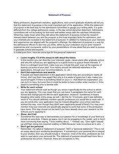 nursing graduate school personal statement sample  nursing  statement of purpose by slideshare a good resource for students that  hope to go to grad school