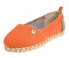 Orange Arove Slip ons - New Arrivals