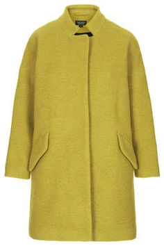 Wool Notch Neck Coat
