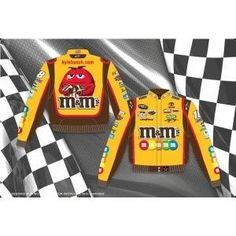 Kyle Busch/M's Adult Nascar Twill Jacket by RacingGifts. $120.00. This is a 2011 Kyle Busch/M's Adult Yellow Twill Jacket Jeff Hamilton Designer Jacket. Since 1988, JH Design and Jeff Hamilton have been manufacturing the highest quality jackets in the world. Since their inception, quality has been the number one focus when producing a product for their customers JH Design offers a 100% cotton Heavy Brushed Twill Uniform Jacket with shoulder pads, Satin lining, and hidden...