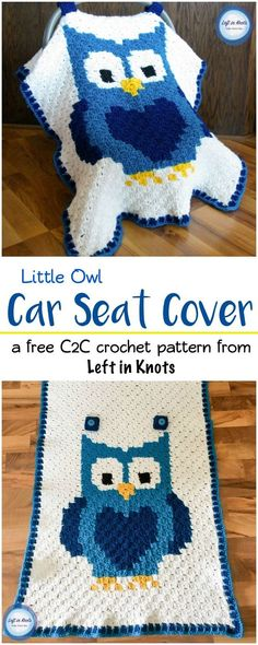 Use the C2C crochet technique to make a personalized car seat canopy with this free pattern!  This pattern is perfect for anyone wanting to learn the C2C technique with a video tutorial ready to get you started. A perfect project for your next DIY baby shower gift!  Made with Red Heart yarn or your favorite worsted weight yarn.