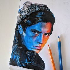 """14 Likes, 1 Comments - ✏ Veronica Z. C. K. (@artflaw) on Instagram: """"1/5 JUGHEAD JONES from #RIVERDALE  ✏️ hashtags!!…"""""""