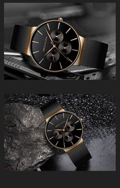 Mens Luxury Watches Ceramic Bezel Sapphire Glass Luminous Quartz Silver Gold Two Tone Stainless Steel Watch (Gold Blue) – Fine Jewelry & Collectibles Stylish Watches, Luxury Watches, Cool Watches, Watches For Men, Best Affordable Watches, Hand Watch, Gifts For Boss, Stainless Steel Watch, Automatic Watch