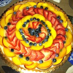 Fruit Tart. Beauty.