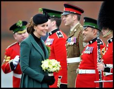 Prince William in Kate Middleton Celebrates St. Patrick's Day 7