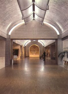 1982, Kimbell art museum. Architect: Louis Kahn. Scan