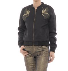Miniprix Pinterest Bomber Jacket, Fashion, Moda, Fashion Styles, Bomber Jackets, Fashion Illustrations