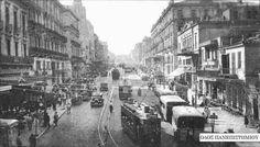 1937 - Η Λεωφόρος Πανεπιστημίου. Greece Pictures, Old Pictures, Old Photos, Vintage Photos, Bauhaus, Old Greek, Acropolis, Modern History, Athens Greece