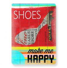 Shoes! Wall Art 14x20