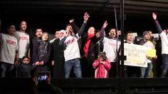 Syrischer Flüchtlingschor singt in Stuttgart