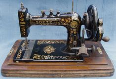 The earliest version of the Soeze (sew easy) probably made in August 1898.