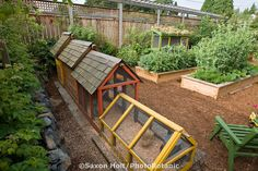 Railroad Style | 21 Positively Dreamy Chicken Coops