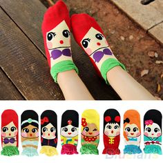 Korean Style Womens Princess Girls Sweet Cute Cartoon Cotton Ankle Socks Sale! #AustinStore2002US #Casual