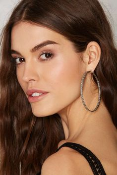 Circling Above Hoop Earrings Accessories At Nasty Gal Necklace Types Tel