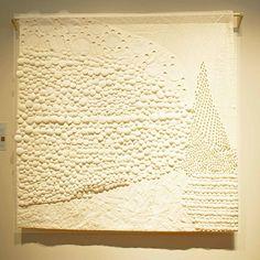 Contemporary Japanese Quilt via grannygeek.us #Quilt #Japanese #grannygeek