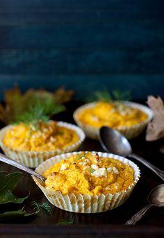 Pumpkin Soufflé with Turkey Bacon and Feta by Yelena Strokin, via Flickr