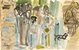 View GROUP OF TINKERS By Nano Reid; Access more artwork lots and estimated & realized auction prices on MutualArt. Watercolour, Group, Artwork, Painting, Art Work, Watercolor Painting, Work Of Art, Auguste Rodin Artwork, Paint