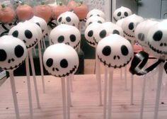 Skeleton Cake Pops