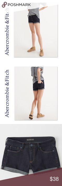 NWT The A&F Abercrombie Low Rise Denim Shorts ➰ Condition:  NWT  ➰ Reasonable Offers Always Welcome!  ➰ FAST SHIPPING - Monday thru Saturday with same or next day after your purchase.  ➰ Questions? Please comment below,       I will be more than happy to assist you.    Holly Abercrombie & Fitch Shorts Jean Shorts