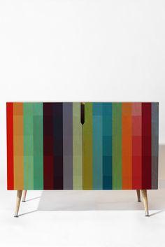 City Colors Credenza Madart Inc Funky Furniture, Paint Furniture, Upcycled Furniture, Unique Furniture, Furniture Makeover, Furniture Decor, Victorian Furniture, Plywood Furniture, Furniture Design