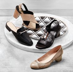 Quirky designs, vibrant soft leathers and state of the art construction are all reflective of the Spanish culture and lifestyle. Hispanitas - Made in Spain. -HEMATITE Gold Sandal -HAFINA Loafer Mules -HEROIC Black Sandal -HALFRID Nude Heel  Now available at www.petersheppard.com.au