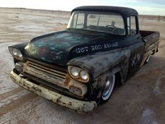 '58 Chevy rat rod pickup