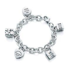 Tiffany Icons Lock Charm Bracelet-Going Over To Tiffany's